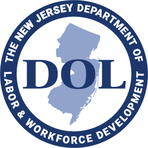 the NJ Department of Labor and Workforce Development logo